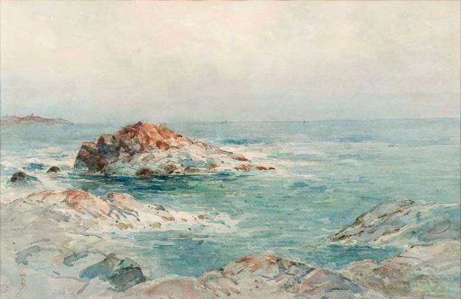 Bricher, Alfred T., Low Tide, Narragansett.jpg